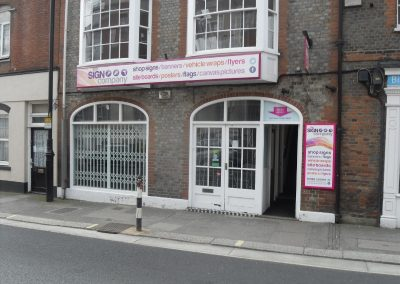 Extensive ground floor premises, suitable for variety of occupiers
