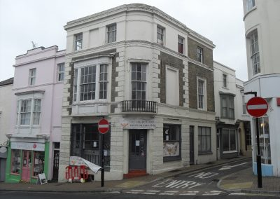 Four storey Grade II listed project premises