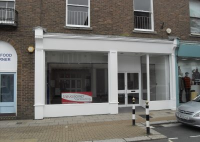 Commercial unit over 2/3 floors, within High Street