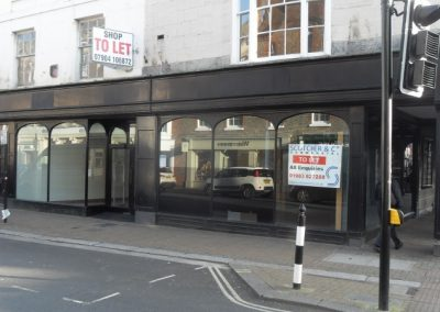Prime-located retail premises with character frontage.