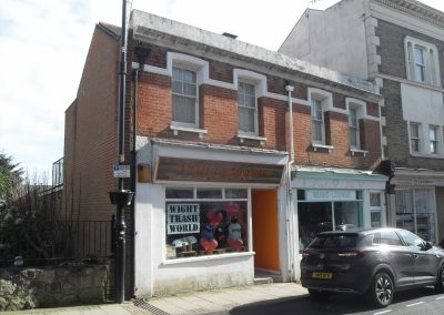 Mixed commercial/residential investment offered for sale on freehold basis