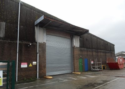Warehouse/production unit available on a new lease