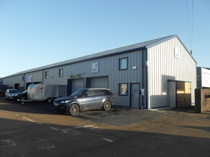Industrial business park with individual investment blocks
