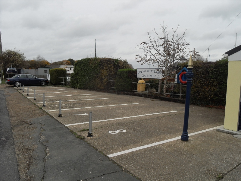 Two remaining car spaces within Little London, available to lease.