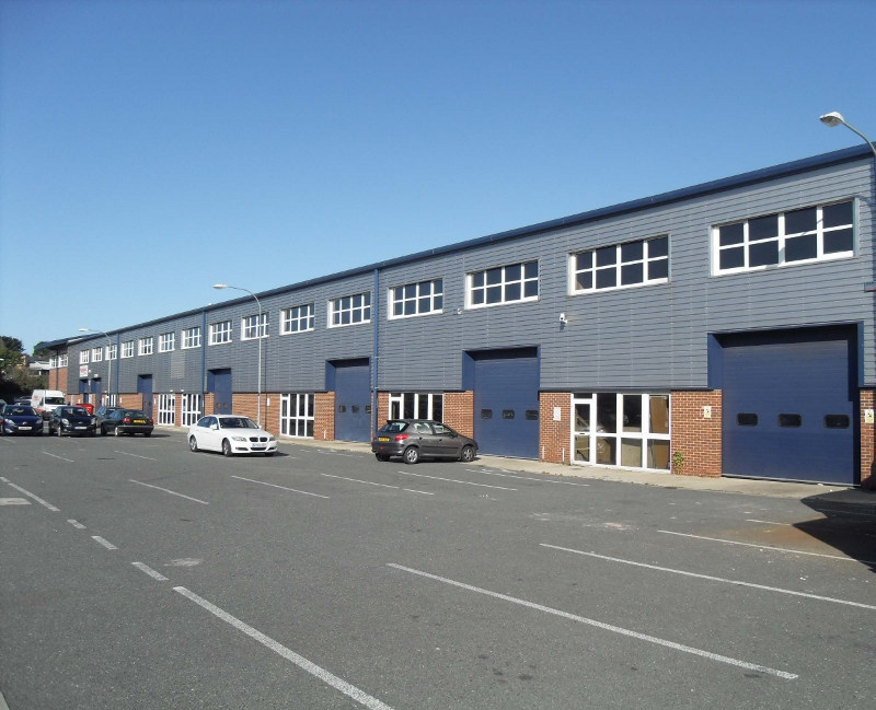 Modern industrial/warehouse premises, available as a whole or two units