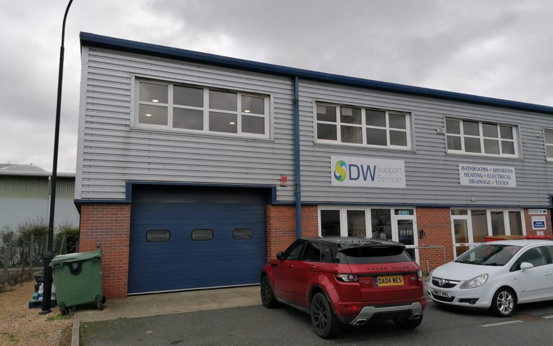 Available due to the current tenant's lease expiry in May 2021, this is a modern end terrace production/warehouse unit.