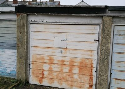 A single garage unit available for sale Freehold