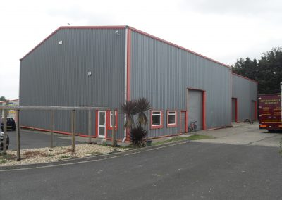 A modern warehouse building providing some 8,000ft² (743m²) – available for sale (ground leasehold)