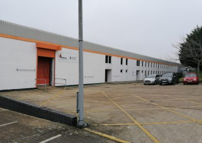 An extensive warehouse/production facility on the outskirts of Newport – available on a new lease, due to the existing tenant's relocation plans.