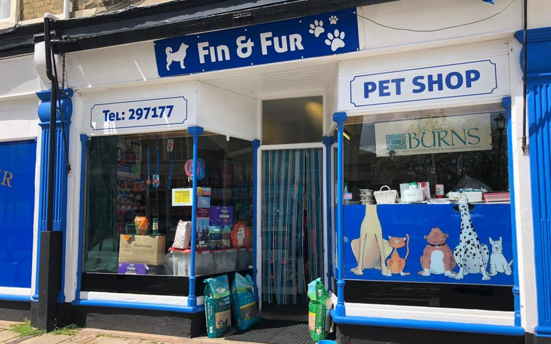 A long-established and profitable pet shop – for sale fully equipped as a going concern.