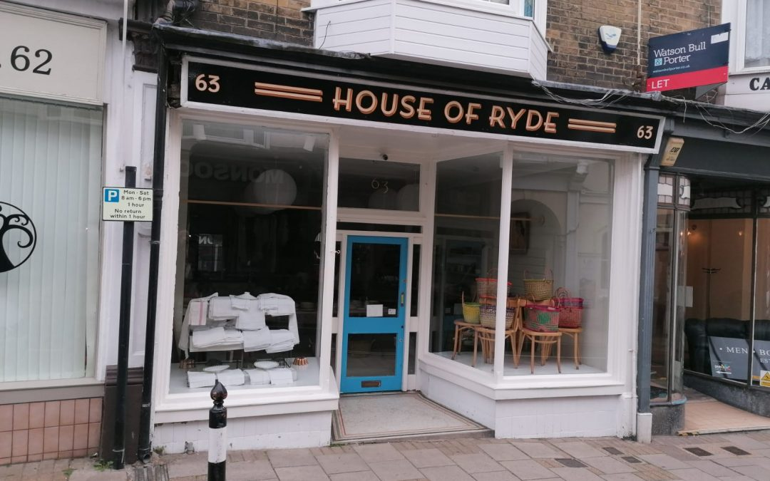 A double-fronted unit in the southern section of Ryde High St – available now on a new lease.